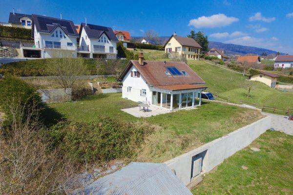 Jolie villa de 5 pièces à Mont-La-Ville (20min de Lausanne)